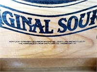 Old Crow Sour Mash Whiskey Wooden Crate