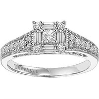 Keepsake Sincerity 1/2 Carat T. W. Diamond Ring