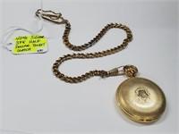 1967 Kennedy Half Gold Pocket Watch & Fob