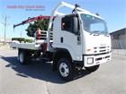 2008 Isuzu FTS 800 Crane Truck