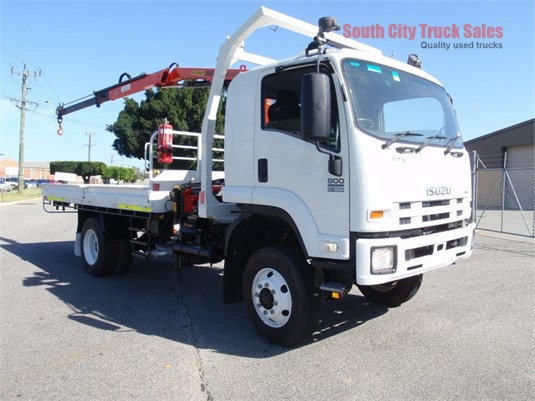 2008 Isuzu FTS 800 South City Truck Sales  - Trucks for Sale