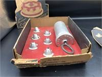 Sterling Spoon/Fork & Vintage Cake Decorating Kit