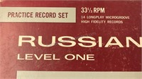 Vintage Russian Language Instructional Record