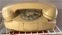 Vintage Analog Rotary Dial Princess Phone With