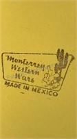 Vintage Monterrey Enameled Metal Dinner Ware