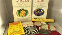 Collection of Vintage Horoscope Items