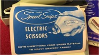 Vintage Thor Speed Snips Electric Scissors and