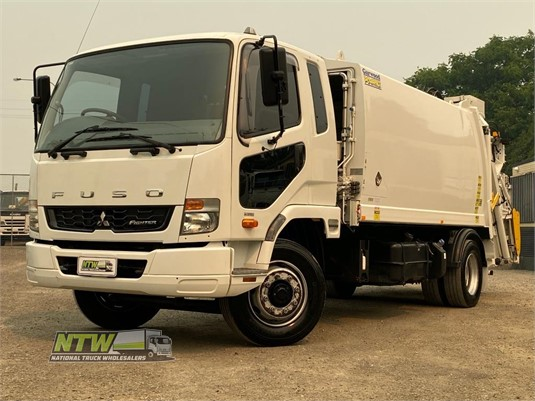 2015 Fuso Fighter 1224 Auto National Truck Wholesalers Pty Ltd - Trucks for Sale