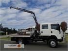 2008 Isuzu FTS 800 4x4 Crane Truck