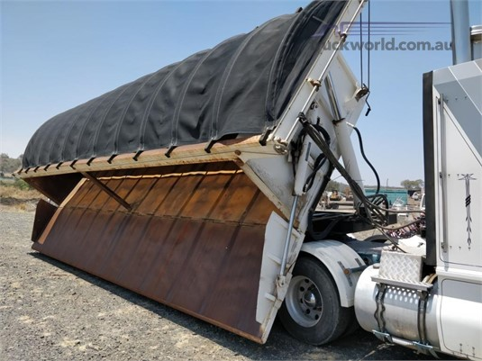 2012 Rhino Side Tipping Trailer Wheellink - Trailers for Sale