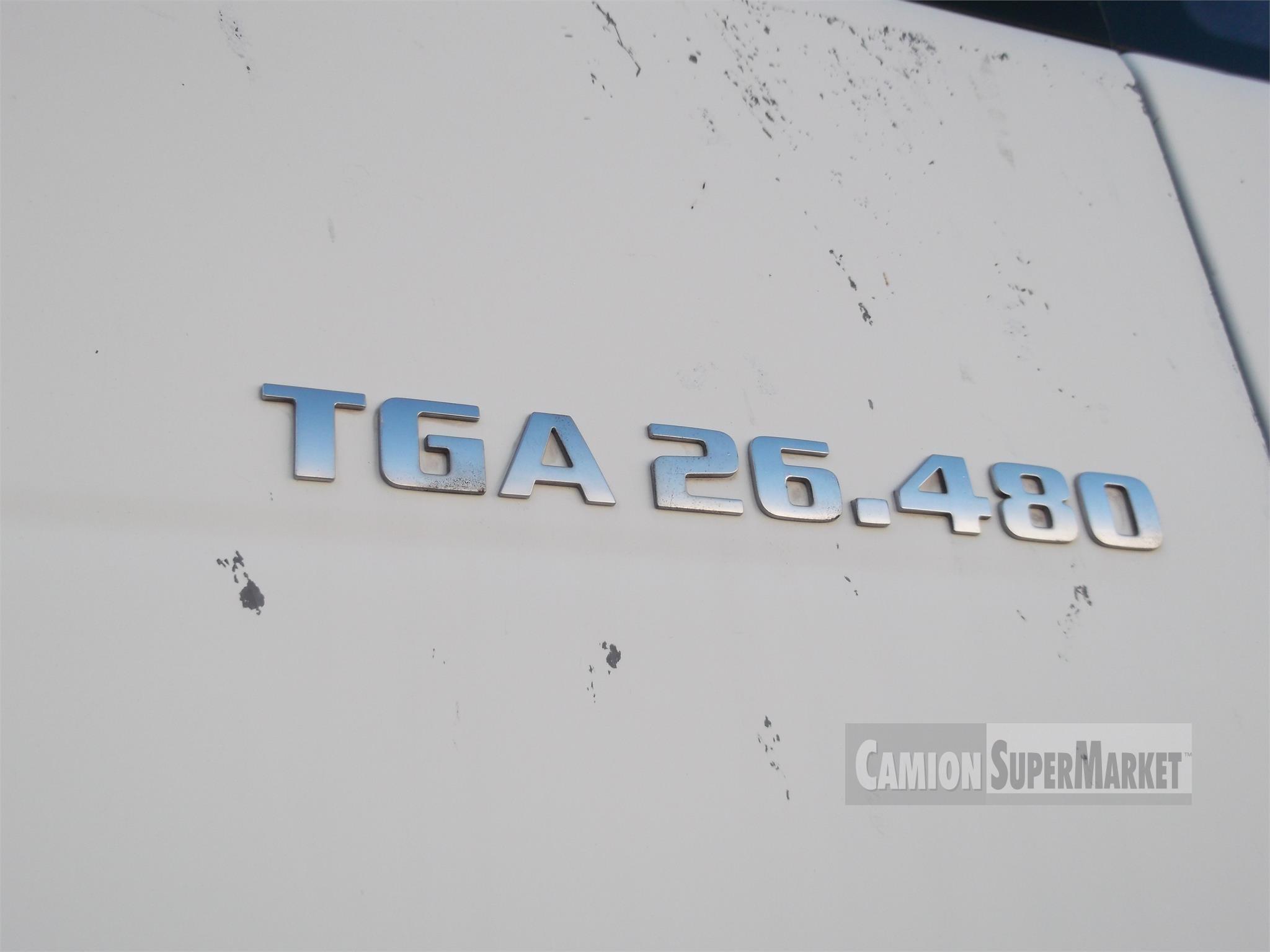 MAN TGA26.480 used 2004