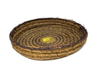 """Indian basket, 8.5"""" D"""