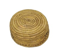 "Indian basket, 6"" D"