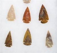 Lot, 10 arrowheads