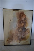 '76 Roslle Childs Canvas Painting