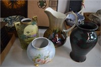 Vases & Pitcher