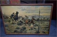 C.M. Russel Western Painting