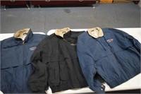 3 Large Jackets