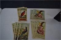 Antique Tobacco Labels