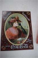 Coke Platter & Sign