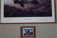 Quail Unlimited Prints w/ Stamp