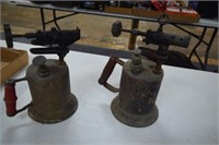 2 Vintage Blow Torches