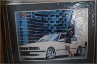 Box of Car Prints