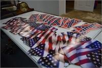 USA & Confederate Tags