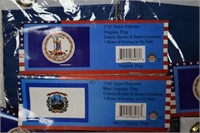 Virginia & West Virginia Flags