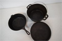 Lodge & Red Stone Cast Iron Cookware