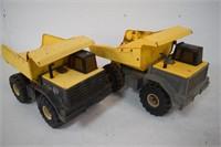 2 Tonka Dump Trucks