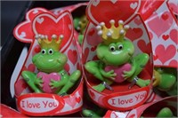 Crate of I Love You Frogs