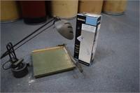 Lamps & Paper Cutter
