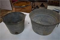2 Galv. Buckets