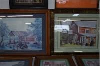 7 Framed Prints