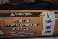 9'X7' - 4 Person Dome Tent (NIB)