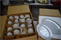98pc Set of Sango China (2 Complete Boxes)