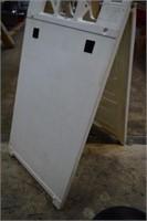 Portable Signcade Sign Board