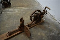 Vintage Wall Mount Hand Drill Press