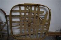 3 Large Tobacco Baskets