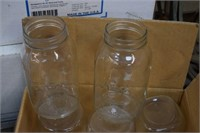 5 Boxes of Canning Jars