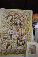 Bee Gee's Poster / Randolph Arts Guild / Records