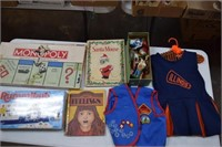 Nativity Figures / Books / Games / Vest - Dress