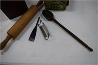 Rolling Pin / Spoon / Kitchenware