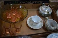 Creamer / Sugar / Tea - Coffee Cup / Saucer