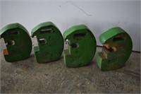 4 - +/- 45 lb Tractor Weights