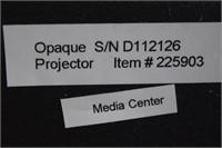 Opaque Projector w/ New Bulbs