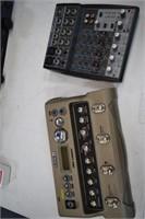 Line 6 Looper & Behringer Xeny X802 Board