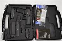 Sig Sauer P250 - 9MM w/Case-3 Clips-Laser-Holster