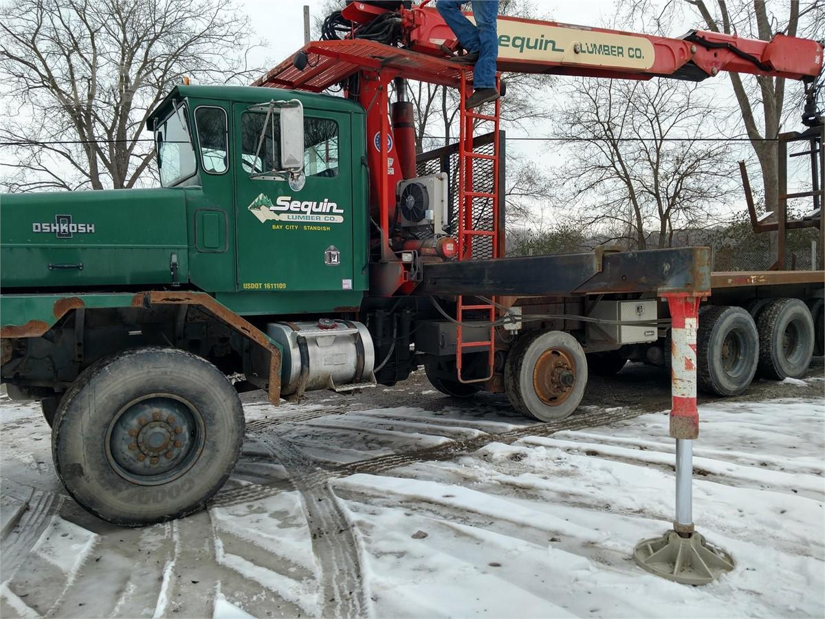 1995 OSHKOSH FA2346 For Sale In BAY CITY, Michigan   TruckPaper.com